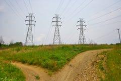 дорога вилки Стоковая Фотография RF