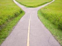 дорога вилки Стоковое Изображение RF
