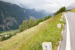 дорога высокогорного grossglockner высокая Стоковые Изображения RF