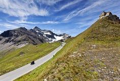 дорога высокогорного grossglockner высокая Стоковая Фотография RF