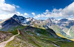 дорога высокогорного grossglocnkner высокая Стоковая Фотография