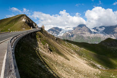 Дорога высокой горы Стоковые Фото