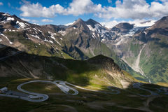 Дорога высокой горы Стоковые Фотографии RF
