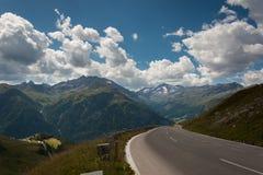 Дорога высокой горы Стоковое Фото