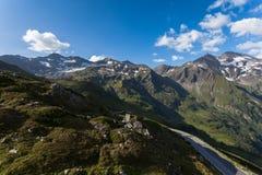 Дорога высокой горы Стоковое Изображение RF