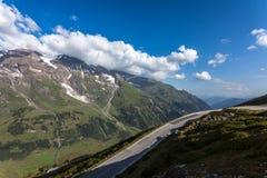 Дорога высокой горы Стоковые Изображения RF