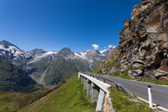 Дорога высокой горы Стоковое Изображение