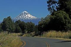 Дорога в Аргентине Стоковая Фотография