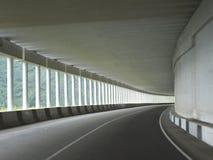 Дорога в горах Сибиря Стоковое Изображение RF