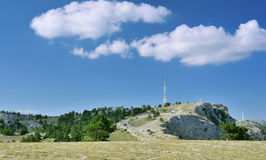 Дорога в горах Стоковые Изображения RF