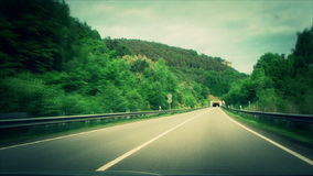 Дорога в горах сток-видео