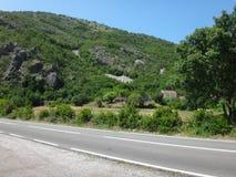 Дорога в горах Стоковое Изображение RF
