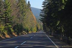 Дорога в горе стоковые фото