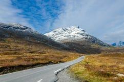 Дорога в горе стоковое изображение