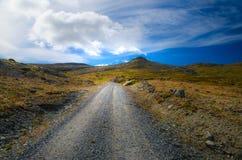 Дорога в горы Стоковые Изображения