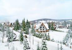 Дорога в деревне стоковое фото rf