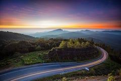 Дорога в лес Стоковые Изображения RF
