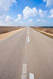 Дорога в Израиле Стоковая Фотография