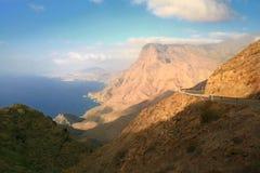 Дорога в Канарских островах Стоковые Фотографии RF