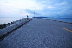 Дорога в море Стоковое Изображение RF