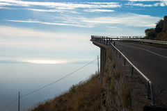 Дорога в небо Стоковая Фотография