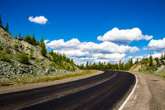 Дорога в долине горы Стоковая Фотография RF