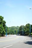 Дорога в парке стоковое изображение rf
