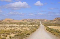 Дорога в пустыне стоковое изображение rf