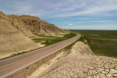Дорога в расстояние стоковое фото rf