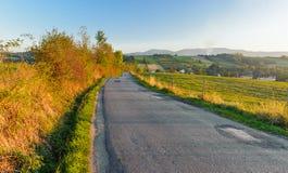 Дорога в селе Стоковые Фотографии RF