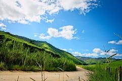Дорога в сельской местности Стоковая Фотография