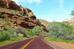 Дорога в США Стоковые Фото