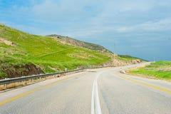 Дорога в холмах Стоковое фото RF