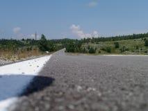 Дорога в Черногории Стоковое Фото