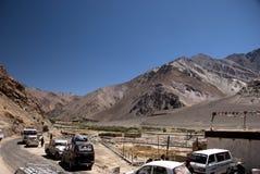 Дорога в Ladkh, Индии стоковые фото