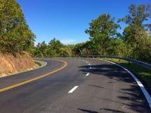 Дорога в mauntains Стоковая Фотография RF