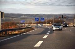 Дорога Германия Стоковое Изображение