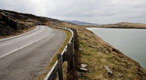дорога гористой местности Стоковое фото RF