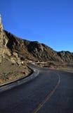 дорога гористых местностей Стоковое Изображение RF