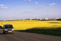 дорога города Стоковое Изображение RF