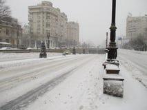 Дорога города стоковое фото