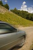 дорога горы автомобиля Стоковые Фотографии RF