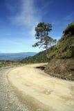 дорога горы загиба круглая Стоковая Фотография RF