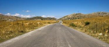 дорога горы к Стоковое Фото