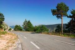 Дорога горы страны Стоковое Изображение RF
