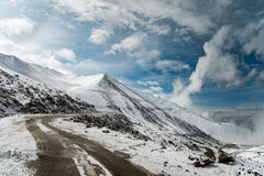 Дорога горы Ladakh Стоковая Фотография RF