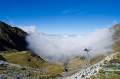 Дорога горы Transfagarasan, Стоковые Изображения RF