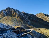 Дорога горы Transfagarasan Стоковое фото RF