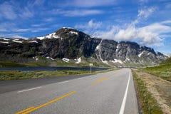 Дорога горы trollstigen Geiranger в южной Норвегии Стоковые Фотографии RF