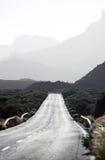 дорога гор вулканическая Стоковое Изображение